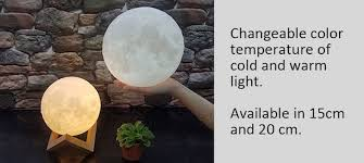 levitating moon light is real time galactic replica for your home