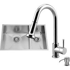 18 vigo stainless steel pull out kitchen faucet readyhot rh