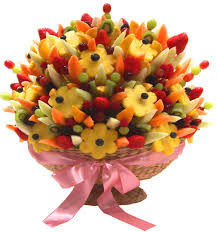 fruit flower bouquets fresh fruit magic feast fruit bouquet manchester fruit