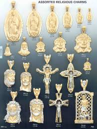 religious charms gold catalog