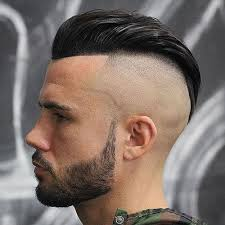 hair cut for men shaved on sides slicked back on top haircut names for men types of haircuts shaved sides haircut