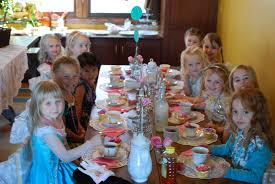 celebrating 5 year olds with a tea party perks of being a housewife