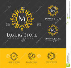 luxury logo letters stock photo image 67642699