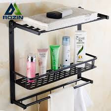 Towel Bathroom Storage Rubbed Bronze Luxury Bathroom Storage Rack Bath Towel Shelf