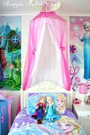Frozen Canopy Bed Frozen Bedroom Ideas Frozen Decor Disney Frozen Bedroom Images