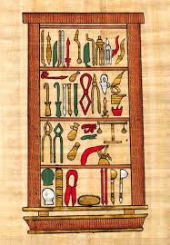 embalming tools egypt4gifts embalming tools papyrus papyrus005
