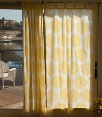 yellow sheer indian bohemian curtains
