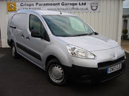 peugeot van used 2013 peugeot partner hdi lwb crew van for sale in saxmundham