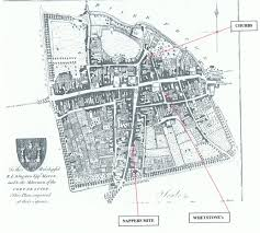 Dorset England Map by The Alms Houses Of Dorchester In Dorset