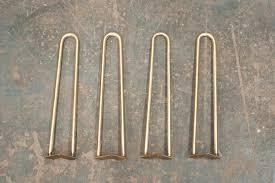 hair pin legs brass hairpin legs from reform brass design sponge