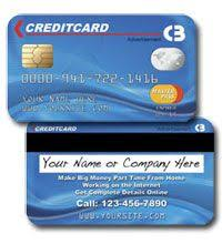 Business Card Credit Business Card Looks Like Credit Card Business Cards Pinterest