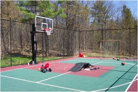 Backyard Sports Court by Backyards Fascinating Sport Court Basketball Multi In Colchester