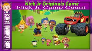 preschool nick jr nick jr originals games nick jr camp count