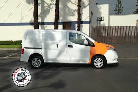 nissan nv200 serviz nissan nv200 fleet commercial vehicle wrap wrap bullys