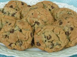 chocolate chip cookies with shortening instead of butter for the