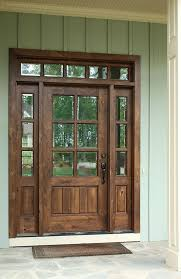 awesome wooden front doors with glass 17 best ideas about wood