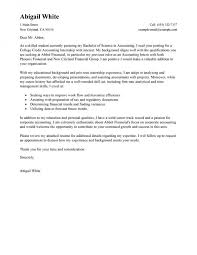 accounting internship cover letter internship cover letter no