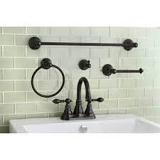 Brushed Bronze Bathroom Fixtures Bronze Finish Bathroom Faucets For Less Overstock