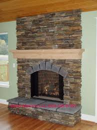 home decoration classic style fireplace installation with natural