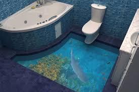 3d floors turn your bathroom into an ocean mirror online