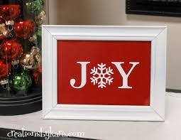 diy christmas decor joy sign creations by kara