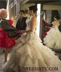 Wedding Dresses Games Ball Gown Jennifer Lawrence Wedding Dress In Hunger Games Catching