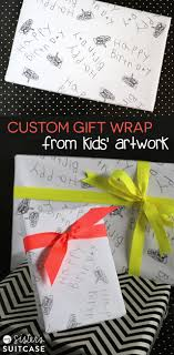 custom gift wrap custom gift wrap from kids artwork eighteen25
