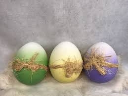 ceramic easter eggs green yellow purple white vintage ceramic easter eggs collectibles
