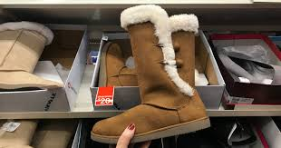 womens brown boots payless payless shoesource s airwalk cozy boots just 15 regularly