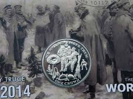 isle of man 1914 ww1 christmas truce commemorative covers isle