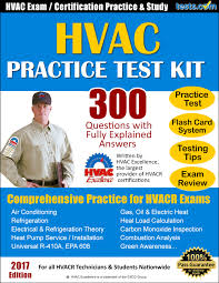 hvac practice test kit