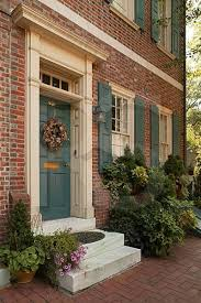 40 best red brick house images on pinterest front door colors