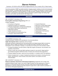 resume format for high graduate philippines map google sle resume for an entry level aerospace engineer monster com