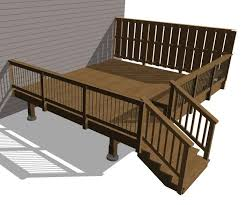 composite deck with wood railings or ditch the composite and go