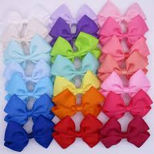 4 inch ribbon popular hair bow boutique 4 inch buy cheap hair bow boutique 4 inch