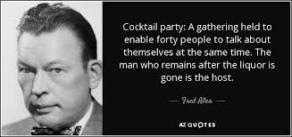 Cocktail Party Quotes - top 13 after party quotes a z quotes