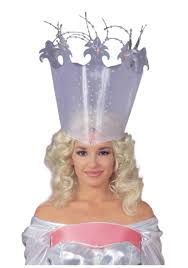 wizard costume wand deluxe glinda crown glinda the good witch costume