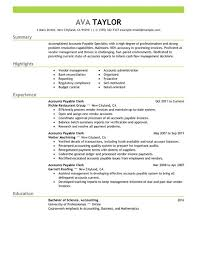 public affairs specialist resume best accounts payable specialist resume example livecareer