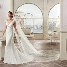 china v neck cap sleeve lace mermaid wedding dress 2017