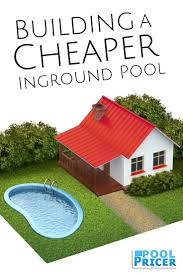 Small Backyard Inground Pools by How To Build The Cheapest Inground Pool Possible Pool Kits