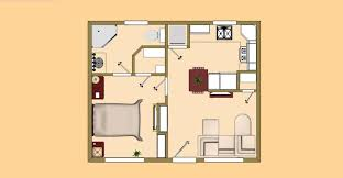 guest cabin floor plans unique 100 plan ideas with gara traintoball small house plans 500 square internetunblock us