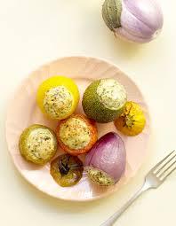 cuisine vapeur recettes minceur petits légumes farcis au poulet pour 4 personnes recettes à table
