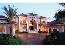 florida one story house designs luxury mediterranean home plans