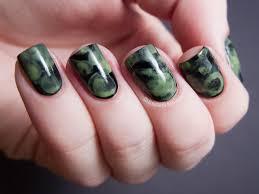 ectoplasmic watercolor manicure chalkboard nails nail art blog