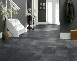 image result for gray floorsdark brown floor tile grout