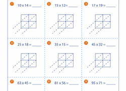 multiply using partial products education com