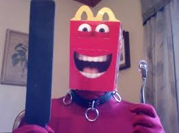 Meme Images Without Text - he has abandoned us mcdonald s happy mascot know your meme