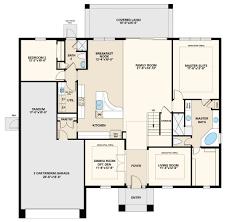 Arbor Homes Floor Plans by Magellan Iii Floor Plan At Arbor Woods In Wesley Chapel Fl