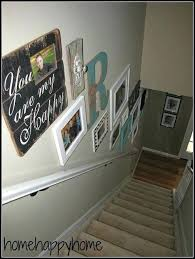 Ideas To Decorate Staircase Wall Staircase Wall Decor Ideas Cfresearch Co