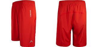 break point woven tennis shorts for men by head
